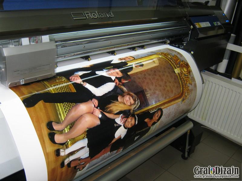 Stampa na canvas i foto papiru Sombor 1