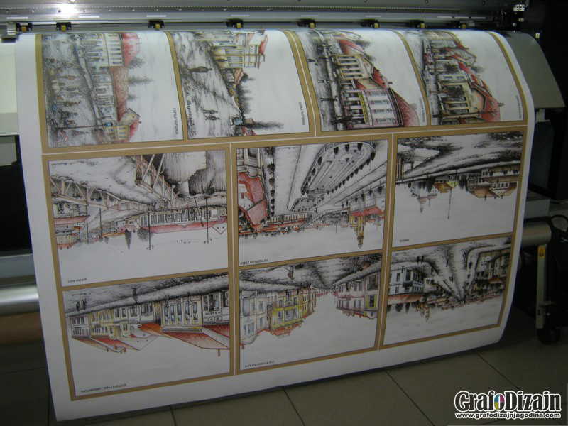 Stampa na canvas i foto papiru Kruševac 1
