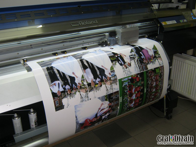 Stampa na canvas i foto papiru Jagodina 1