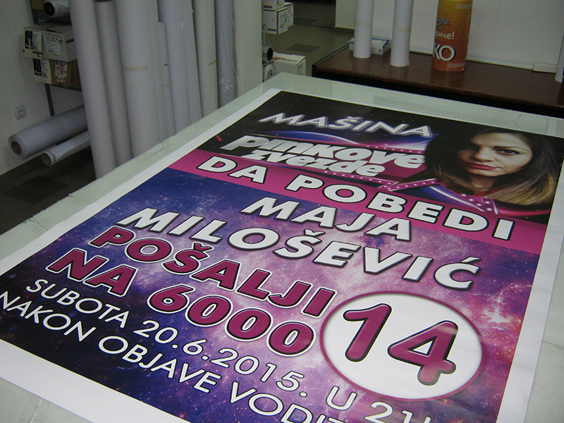 Stampa postera i plakata Šabac 1