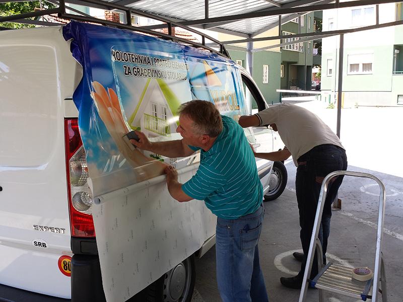 Brendiranje vozila Novi Pazar 1