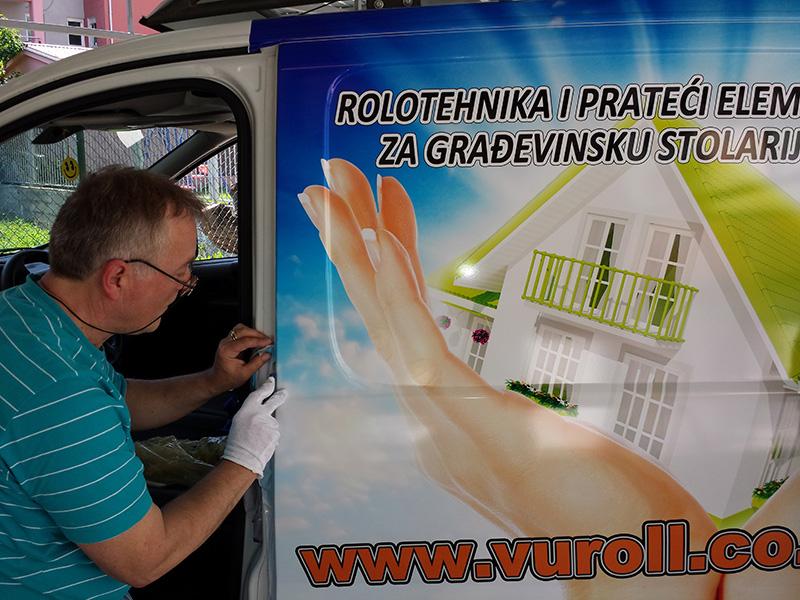 Brendiranje vozila Despotovac 1