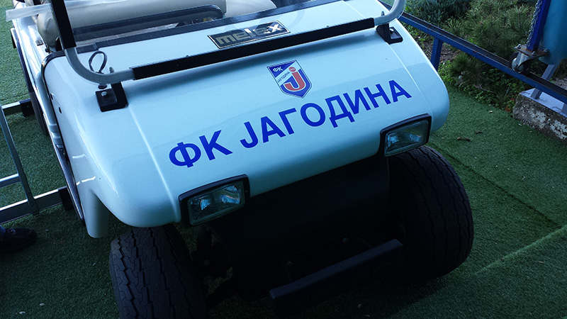 Brendiranje vozila Šabac 1