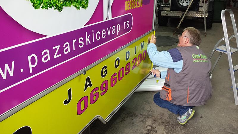 Brendiranje vozila Vranje 1
