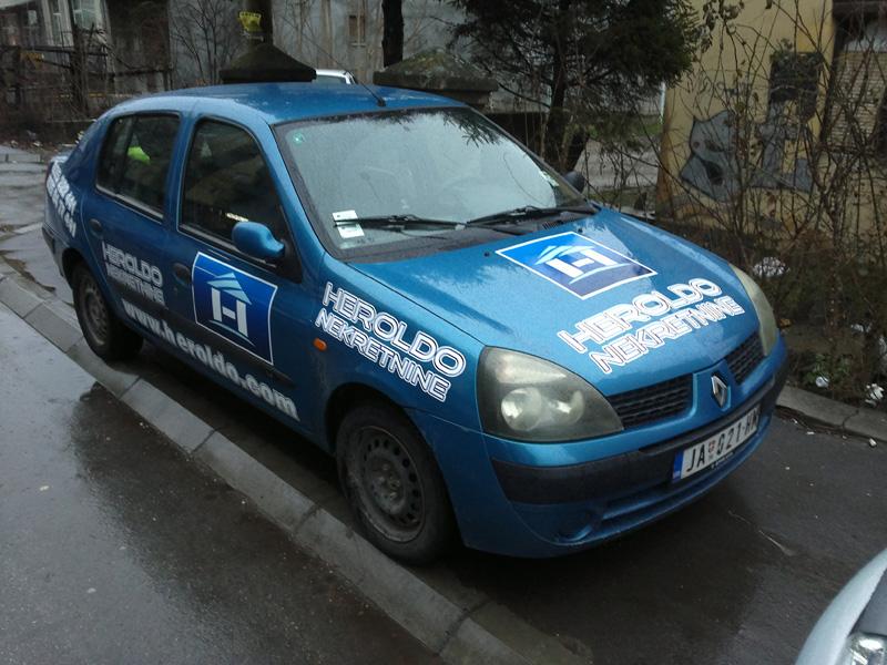 Brendiranje vozila Kruševac 1