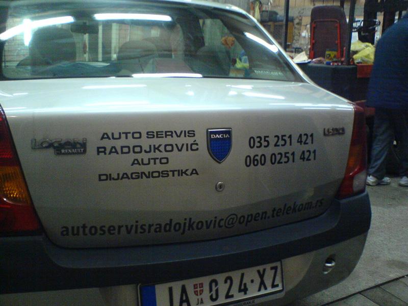 Brendiranje vozila Leskovac 1