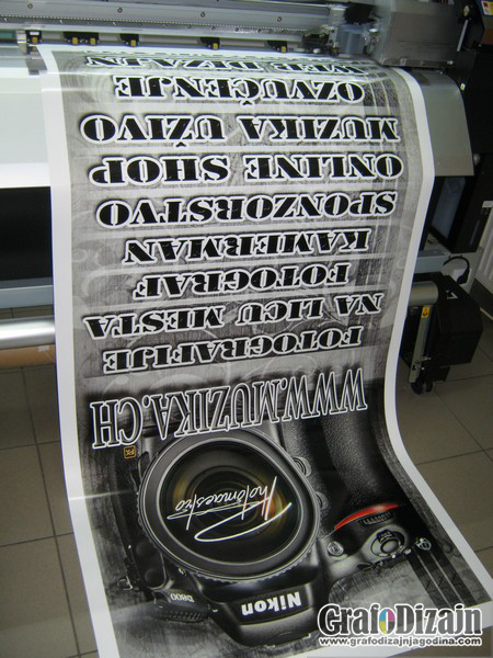 Roll-up stampa Novi Pazar 1