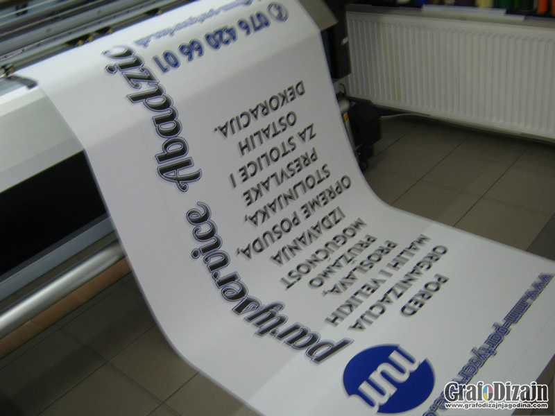 Roll-up stampa Niš 1