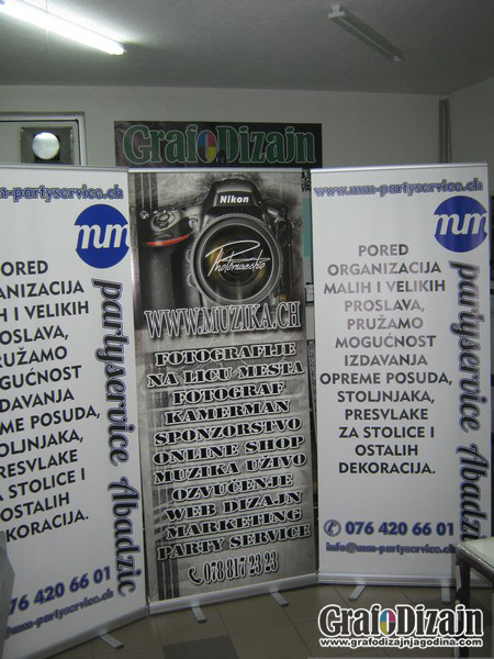 Roll-up stampa Vranje 1