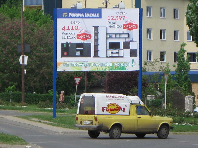 Stampa bilborda i megaborda Šabac 1