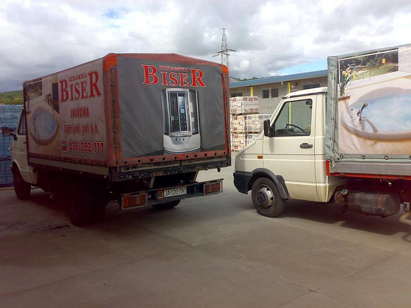Stampa kamionskih cerada Beograd 1
