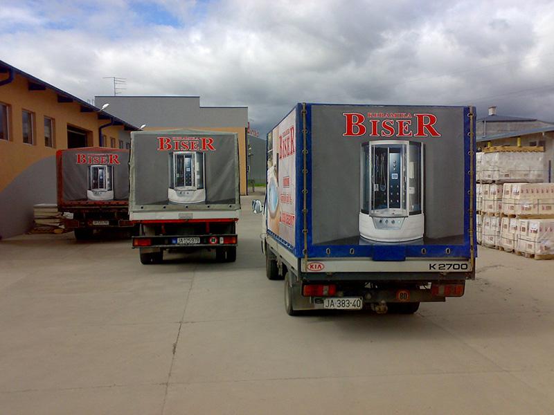 Stampa kamionskih cerada Kragujevac 1
