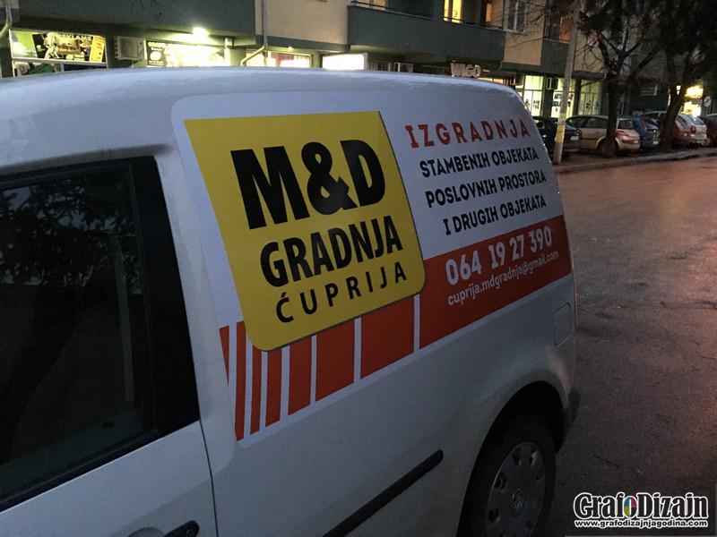 Brendiranje vozila Subotica 1