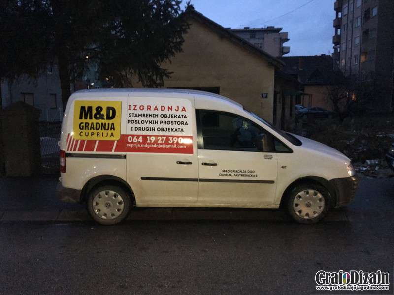 Brendiranje vozila Smederevo 1