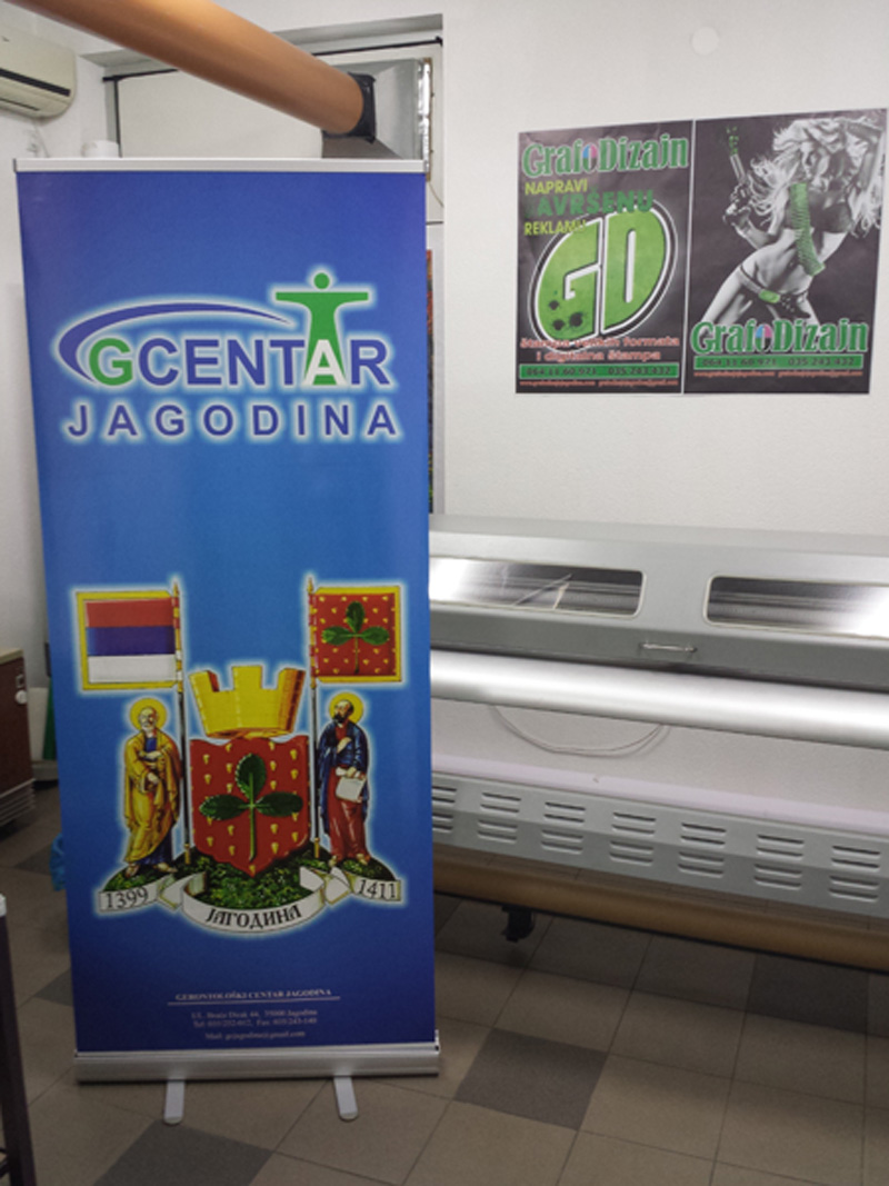 Roll-up stampa