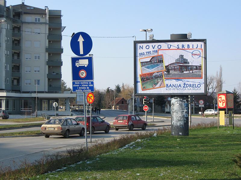 Stampa bilborda i megaborda Sremska Mitrovica 1